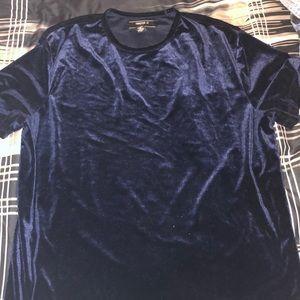 forever 21 velvet t shirt